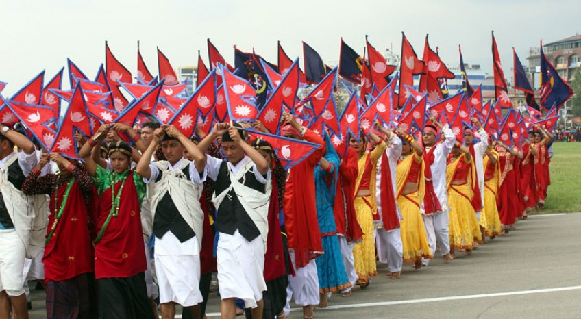 Ganatantra Diwas (Republic Day) in Nepal
